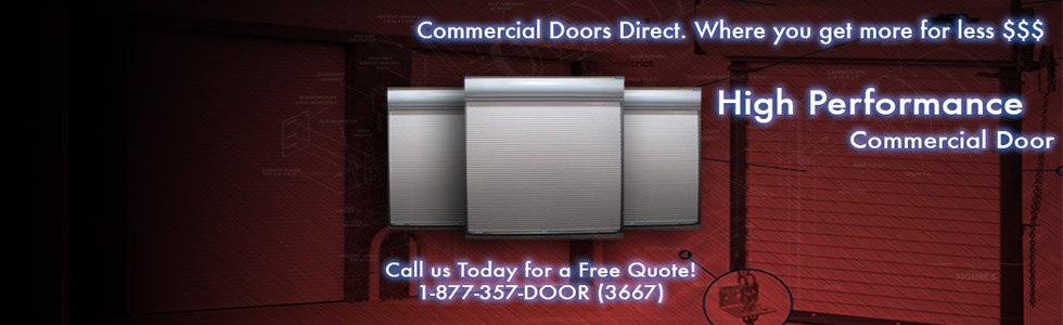we also offer the best prices in roll up doors